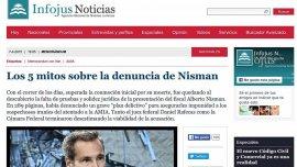 En las semanas posteriores a su muerte, Infojus trabajó activamente para desacreditar la denuncia de Alberto Nisman.