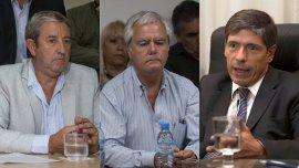 Julio Cobos, Federico Pinedo y Juan Manuel Abal Medina celebraron la resolución de la ONU