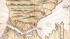 El Islario de Alonso Santa Cruz (1541) ubica las islas con bastante precisión