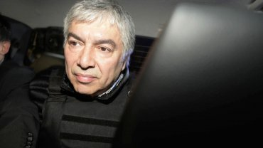Lázaro Báez permanece detenido por la causa que investiga la Ruta del dinero K