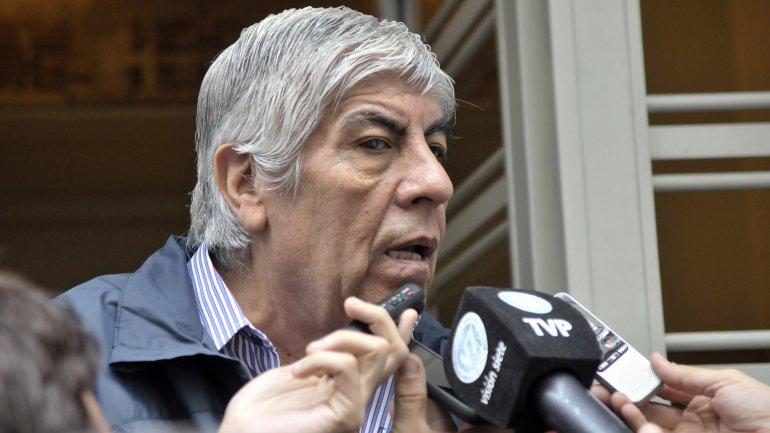 """Moyano: """"Hace dos años que la AFA está intervenida por Angelici y Lammens"""""""