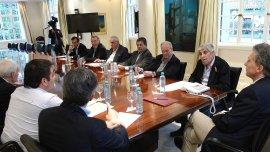 Elpoder sindicalvolvió a retratarse con el Presidente en la Casa Rosada