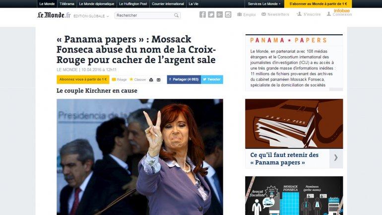 [Urgente] Cristina Kirchner con Cuentas Off-Shore.