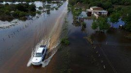 Las provincias afectadas sonSantiago del Estero, Formosa, Corrientes, Santa Fe, Chaco, Córdoba y Entre Ríos