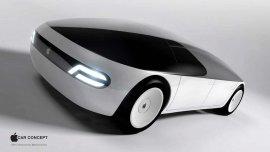 Uno de los tantos diseños creados por fanáticos del auto de Apple