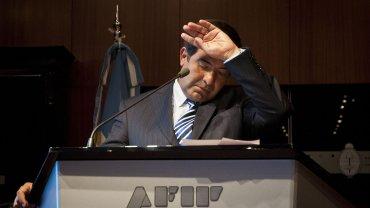 Preocupado. Su lugar en la Auditoría General de la Nación (AGN) empezó a peligrar en las últimos semanas