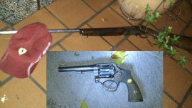 Las armas secuestradas