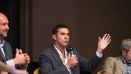 Juan Manuel Urtubey habla en la universidad de Columbia