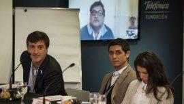 Esteban Bullrichencabezó un encuentro de infraestructura tecnológica educativa