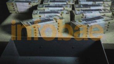 Los dólares incautados por la Justicia en cajas de seguridad de varios bancos