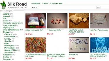 Silk Road, uno de los sitios más populares que funcionaba para comprar droga