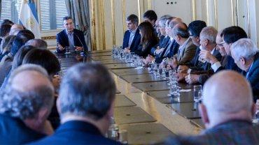 Mauricio Macri anunció a un grupo de rectores una ampliación presupuestaria para universidades
