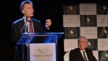 Mauricio Macri brindó un discurso en la cena anual de la Fundación Libertad