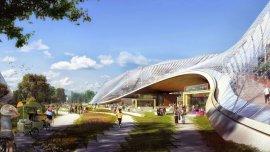 El nuevo campus parece una mini ciudad que conjuga perfectamente la vida al aire libre con el trabajo.