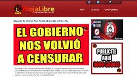Así reaccionaron desde RiojaLibre frente a la censura.