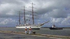Durante su viaje, la Fragata Libertad hará puerto en nueve países