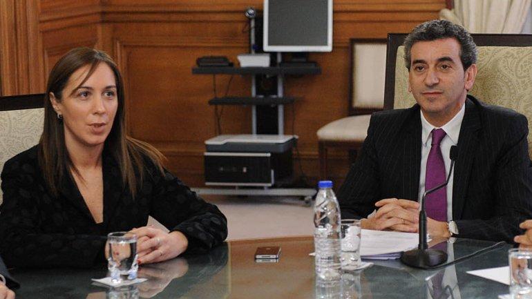 María Eugenia Vidal cenó con Florencio Randazzo