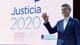 Mauricio Macri presentó esta semana su plan Justicia 2020