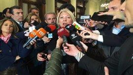 Elisa Carrió presiona a los jueces que investigan los casos de corrupción