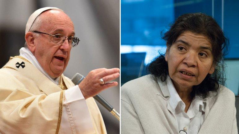 El Papa invitó a Margarita Barrientos al Vaticano pero la fundadora de Los Piletones no podrá ir.