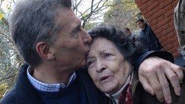 Mauricio Macri estuvo en contacto con vecinos del barrio Derqui, en el partido bonaerense de Tres de Febrero.