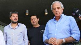Rodolfo DOnofrio,Daniel Angelici y Matías Lammens renunciaron al Comité Ejecutivo de la AFA, pero dieron marcha atrás luego de un llamado del Gobierno.