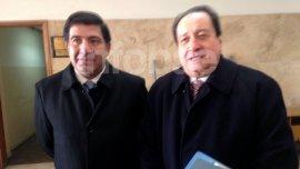 Ricardo Echegaray, acompañado de su abogado León Arslanian.