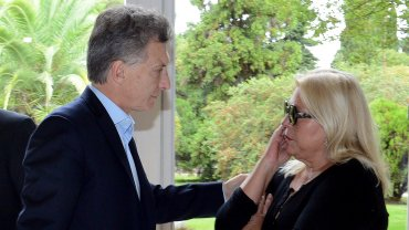 Elisa Carrió se transformó en una de las principales confidentes del presidente Macri