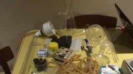 Parte de los objetos secuestrados en el operativo