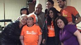 Benicio y su familia
