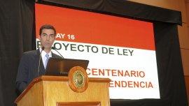 Juan Manuel Urtubey en el lanzamiento del proyecto
