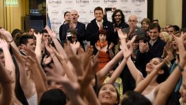 Sergio Massa participó de la apertura del centro cultural La Fragua
