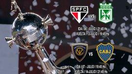 Boca jugará ante Independiente del Valle de Ecuador los días 7 y 14 de julio en busca de llegar a la final de la Copa Libertadores de América