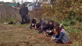 Ocho mujeres chinas fueron rescatadas por la policía