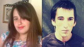 Micaela Ortega y su asesino, Jonathan Luna