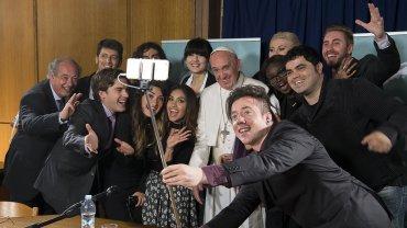 Francisco con los youtubers