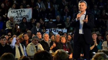 Mauricio Macri en Santiago del Estero