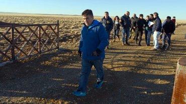 Guillermo Marijuan en los allanamientos