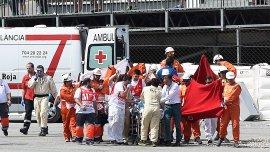 El piloto Luis Salom falleció tras accidentarse en en los entrenamientos previos al Gran Premio de Cataluña