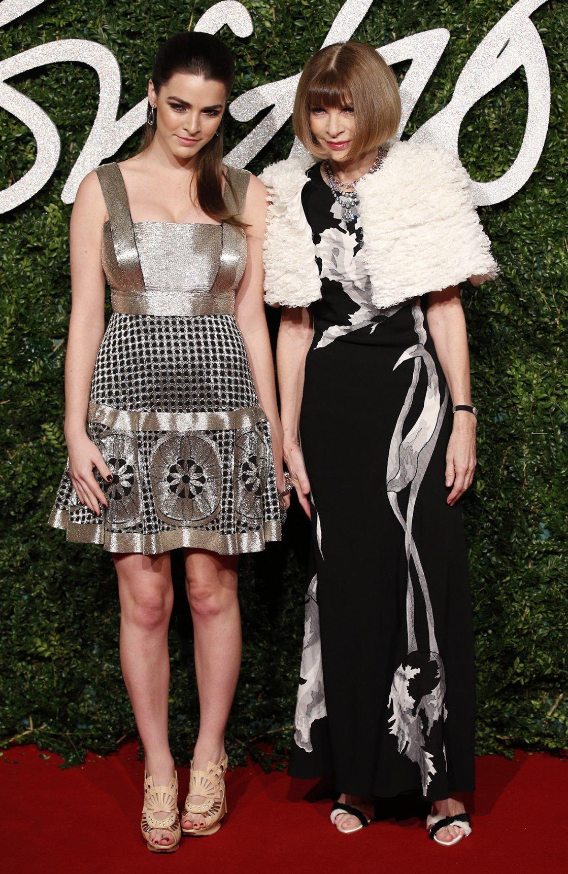 Anna Wintour junto a su hija Bee Shaffer