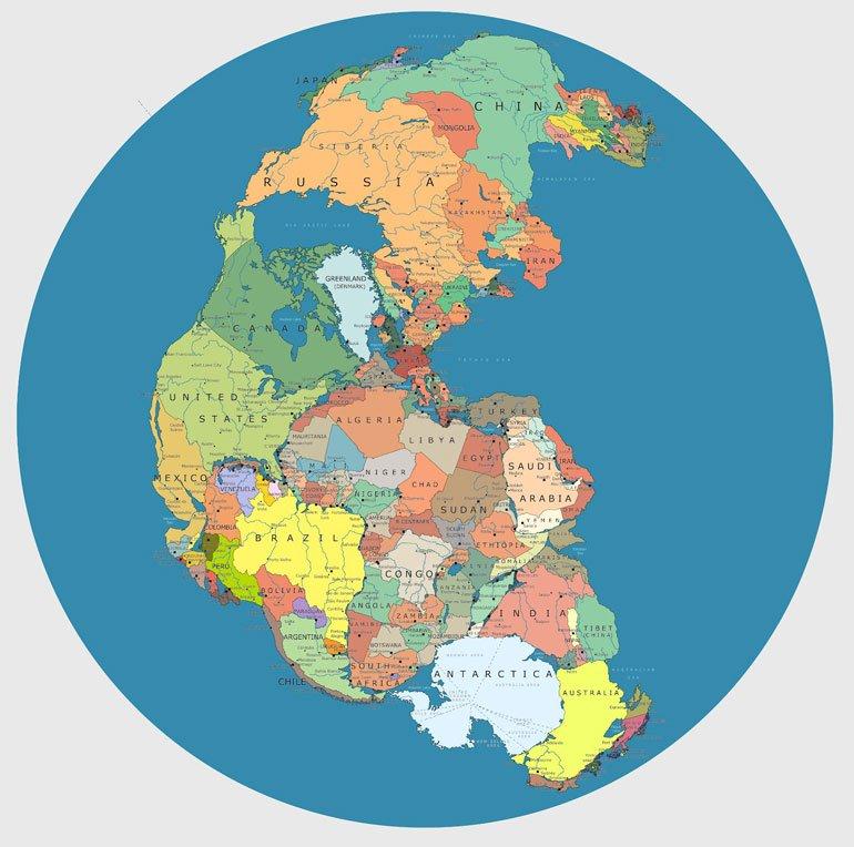 Pangea : El mundo en un solo continente