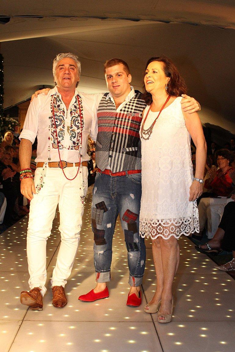 Una gran familia de talentosos diseñadores: Carlo Di Doménico, Susana Ortíz y Stefano Di Doménico