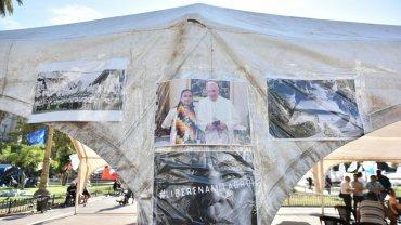 Los miembros de la Tupac Amaru y otras organizaciones afines al kirchnerismo consideran a Milagro Sala una presa política