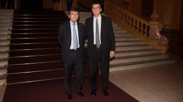 Marcos Gastaldi y su hermano Federico