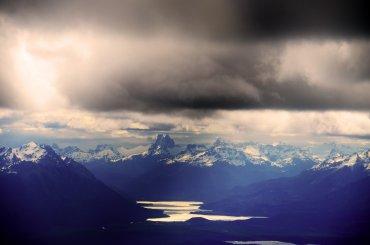 Tormenta en la Patagonia