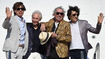 Los Rolling Stones llegaron a Uruguay, donde se presentarán en el estadio Centenario de Montevideo