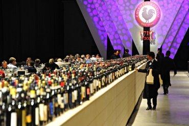 Vista general del evento Colección clásica Chianti celebrado en Florencia, Italia. Se celebra este año el 300 aniversario de la primera región productora de vino