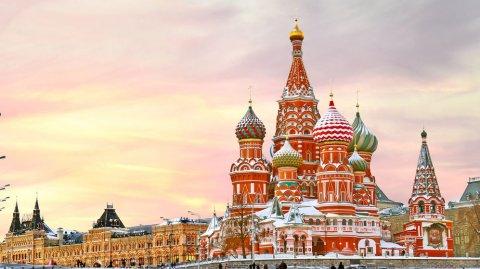 La icónica plaza es una de las más grandes del mundo y la más famosa de Rusia.
