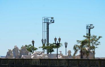 Tras idas y vueltas y disputas judiciales, el monumento del navegante genovés fue trasladado a un predio en Costanera Norte.