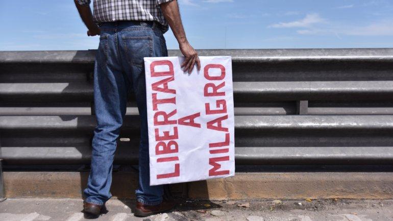 El miércoles hubo 200 cortes de ruta para pedir la liberación de Milagro Sala, cuya situación judicial es cada vez más complicada